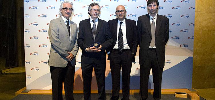 Entrega del premio ORP en el Guggenheim
