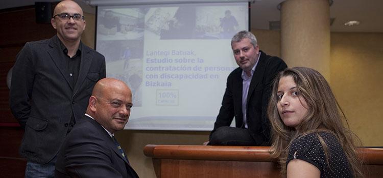 Presentación del estudio en la Cámara de Comercio de Bilbao