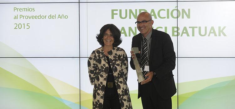 Entrega del Premio Iberdrola Proveedor 2015