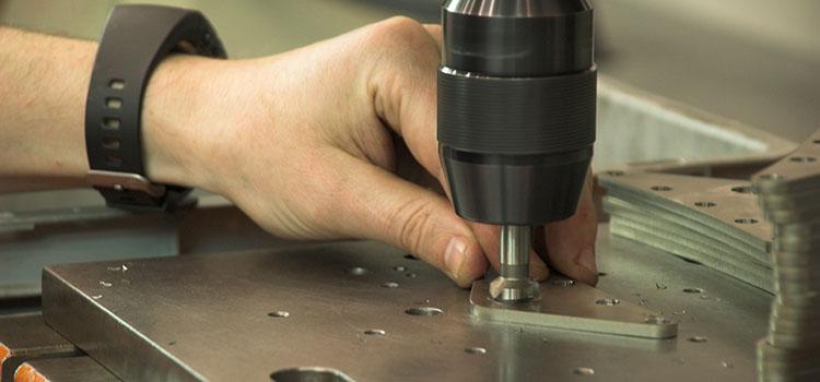 Montaje componentes industriales