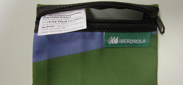 Reciclaje lonas ferias Iberdrola