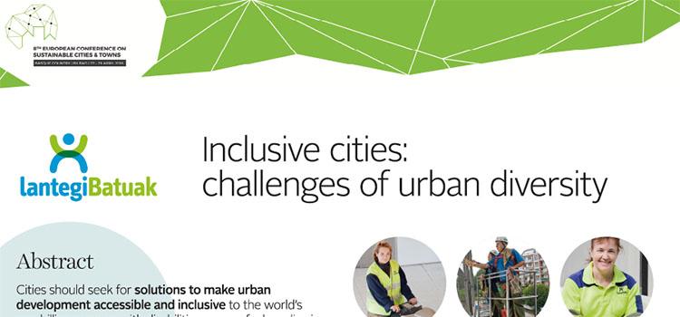 Ciudades inclusivas retos de la diversidad urbana
