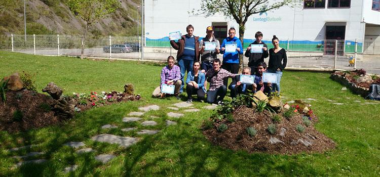 Formacion jardineria Lantegi Batuak Gazteability
